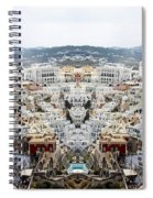 Greece Double Vision #51 Spiral Notebook