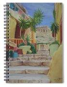 Greece Spiral Notebook