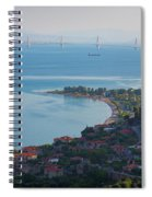 Greece. The Rioantirrio Bridge Spiral Notebook