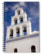 Greek Church Bells Spiral Notebook