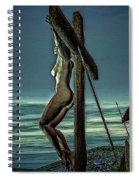 Greek Crucifixion Scene II Spiral Notebook