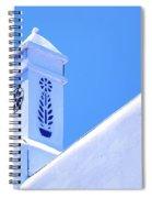 Greek Details Spiral Notebook