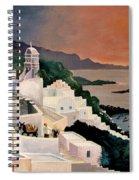 Greek Isles Spiral Notebook
