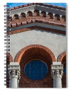 Greek Orthodox Church Arches Spiral Notebook