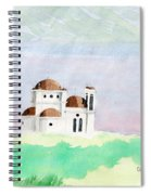 Greek Orthodox Church Spiral Notebook