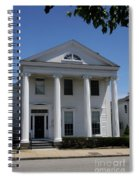 Greek Revival House - New London Ct Spiral Notebook