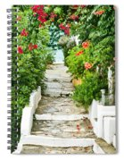 Greek Steps Spiral Notebook