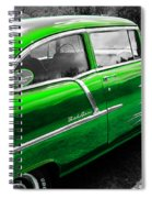 Green 1957 Chevy Spiral Notebook