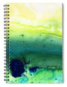 Green Abstract Art - Life Song - By Sharon Cummings Spiral Notebook