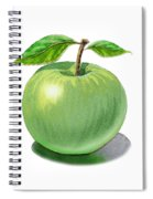 Green Apple Still Life Spiral Notebook