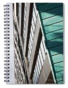 Green Architectural Detail Spiral Notebook