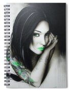 Green Ascension Spiral Notebook