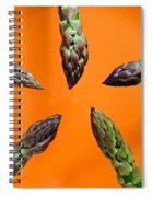 Green Asparagus - Fresh Food Photography Spiral Notebook