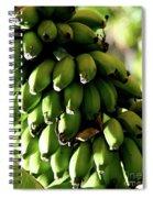 Green Bananas Spiral Notebook