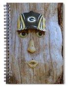 Green Bay Packer Humor Spiral Notebook