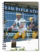 Green Bay Packers Lambeau Field Spiral Notebook