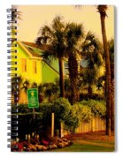 Green Beauty At Isle Of Palms Spiral Notebook