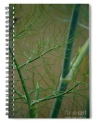 Green Branches Spiral Notebook