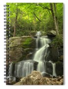 Green Canopy Above Laurel Falls Spiral Notebook