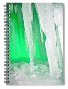 Green Cave Spiral Notebook