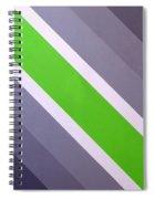 Green Chevron Spiral Notebook