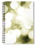 Green Circles Spiral Notebook