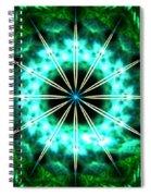 Green Compass Spiral Notebook