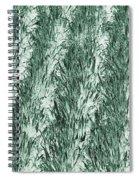 Green Cornfield Spiral Notebook