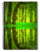 Green Day Dreams Spiral Notebook
