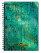 Green Door - Carmel By The Sea Spiral Notebook