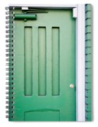 Green Door San Francisco Spiral Notebook