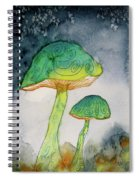 Green Dreams Spiral Notebook