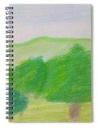 Green Enjoyment Spiral Notebook