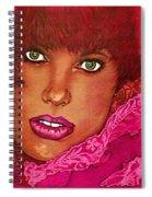 Green Eyed Redhead Spiral Notebook