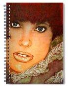 Green Eyed Redhead IIi Spiral Notebook