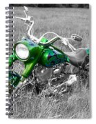 Green Fat Boy Spiral Notebook
