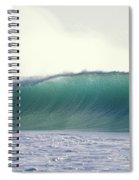 Green Feather Spiral Notebook