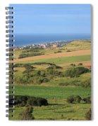 Green Fields Of  France  Spiral Notebook