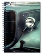 Green Ford Spiral Notebook