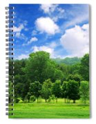 Green Forest Spiral Notebook