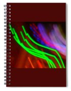 Green Fusion Traveler In The Cosmos Spiral Notebook