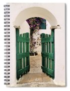 Green Gate Spiral Notebook
