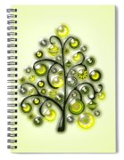 Green Glass Ornaments Spiral Notebook
