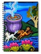 Green Goddess Coffee Spiral Notebook