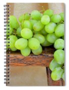 Green Grapes Spiral Notebook