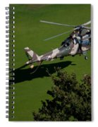 Green Grass Landing  Spiral Notebook
