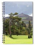Green Green Garden And Mountain Spiral Notebook