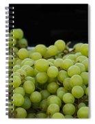 Green Green Grapes Spiral Notebook