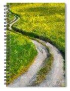 Green Green Grass Of Home Spiral Notebook