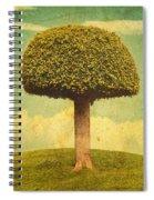 Green Growing Lullaby Spiral Notebook